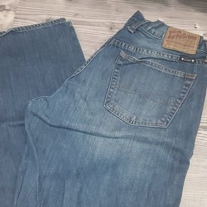 Lucky brand mens jeans 34x34 medium wash relaxed